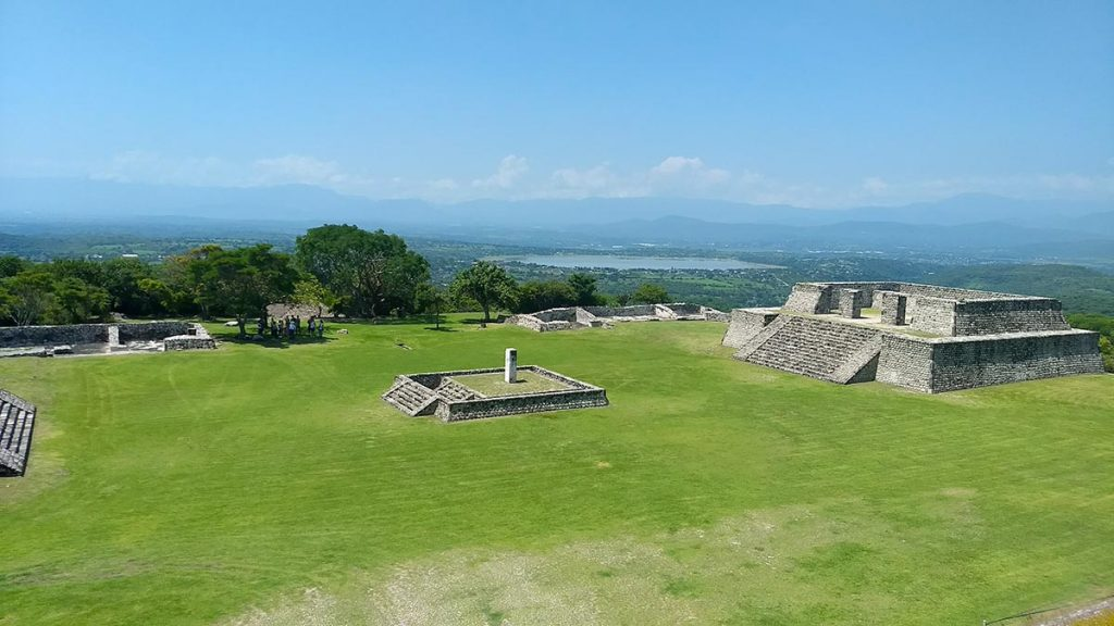 Vista Panorámica de Xochicalco, Morelos
