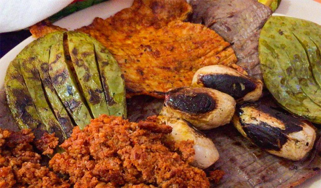 Feria de la Cecina en Yecapixtla Morelos